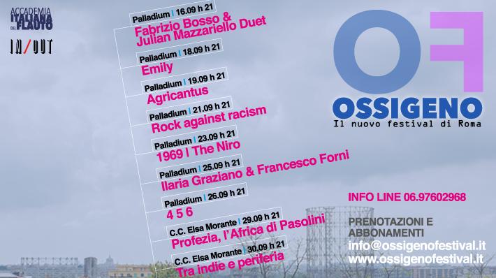 Ossigeno - Il festival di Roma