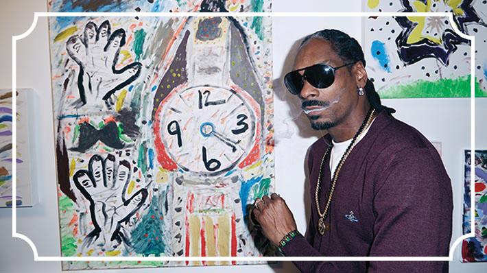 Snoop Dogg è il nuovo Pollock ed altre storie