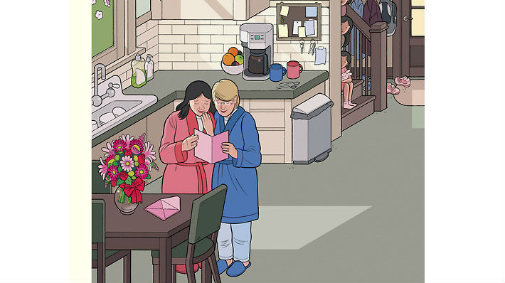Mothers' Day || Chris Ware