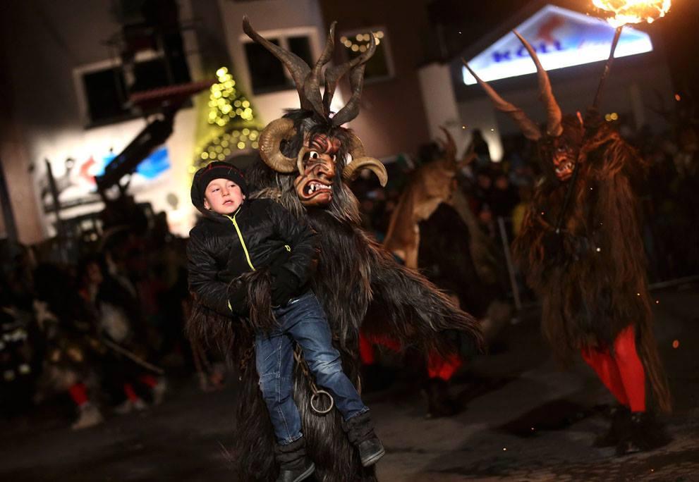 Krampusnacht il natale demoniaco